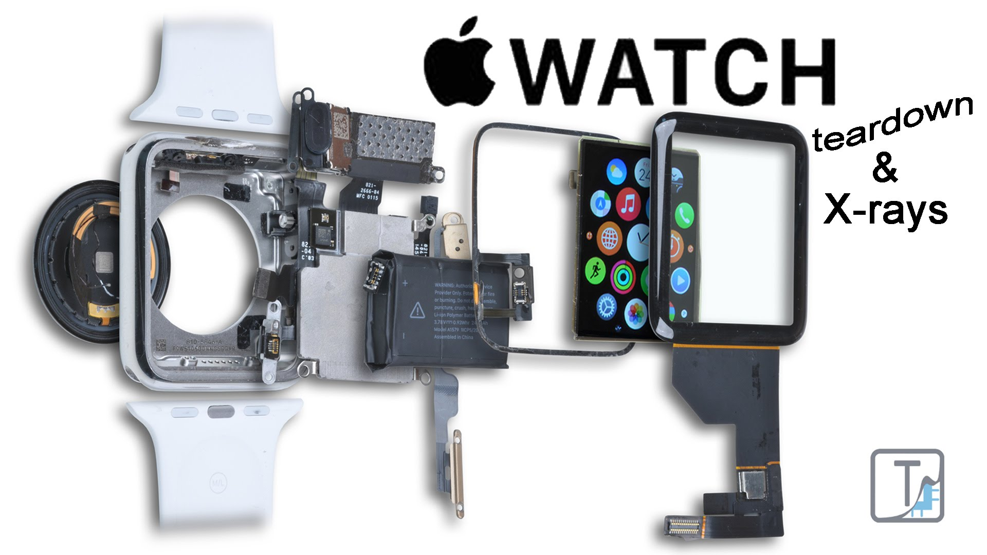 apple watch アップルウォッチ 分解方法動画