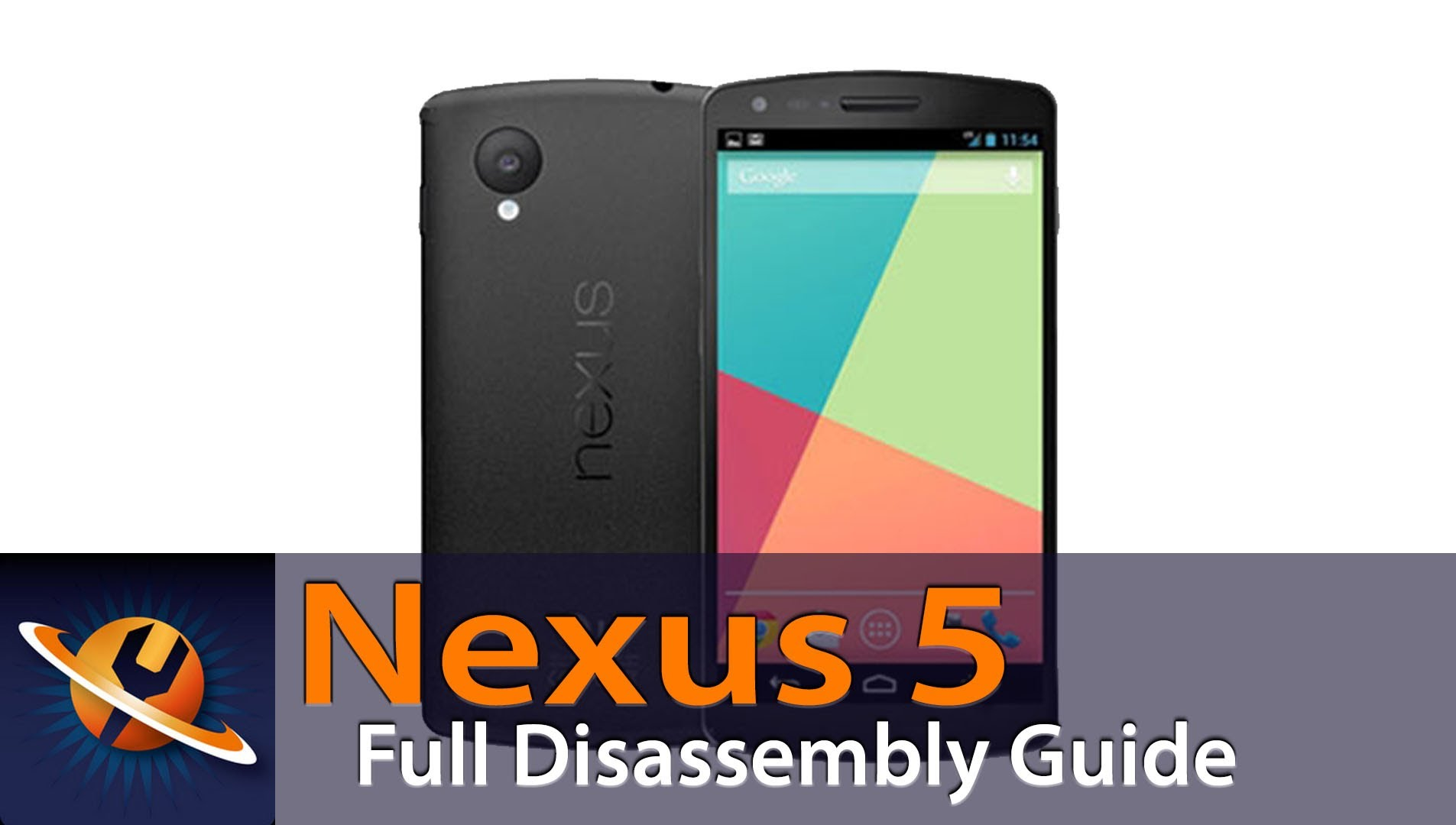 Google Nexus 5分解方法動画