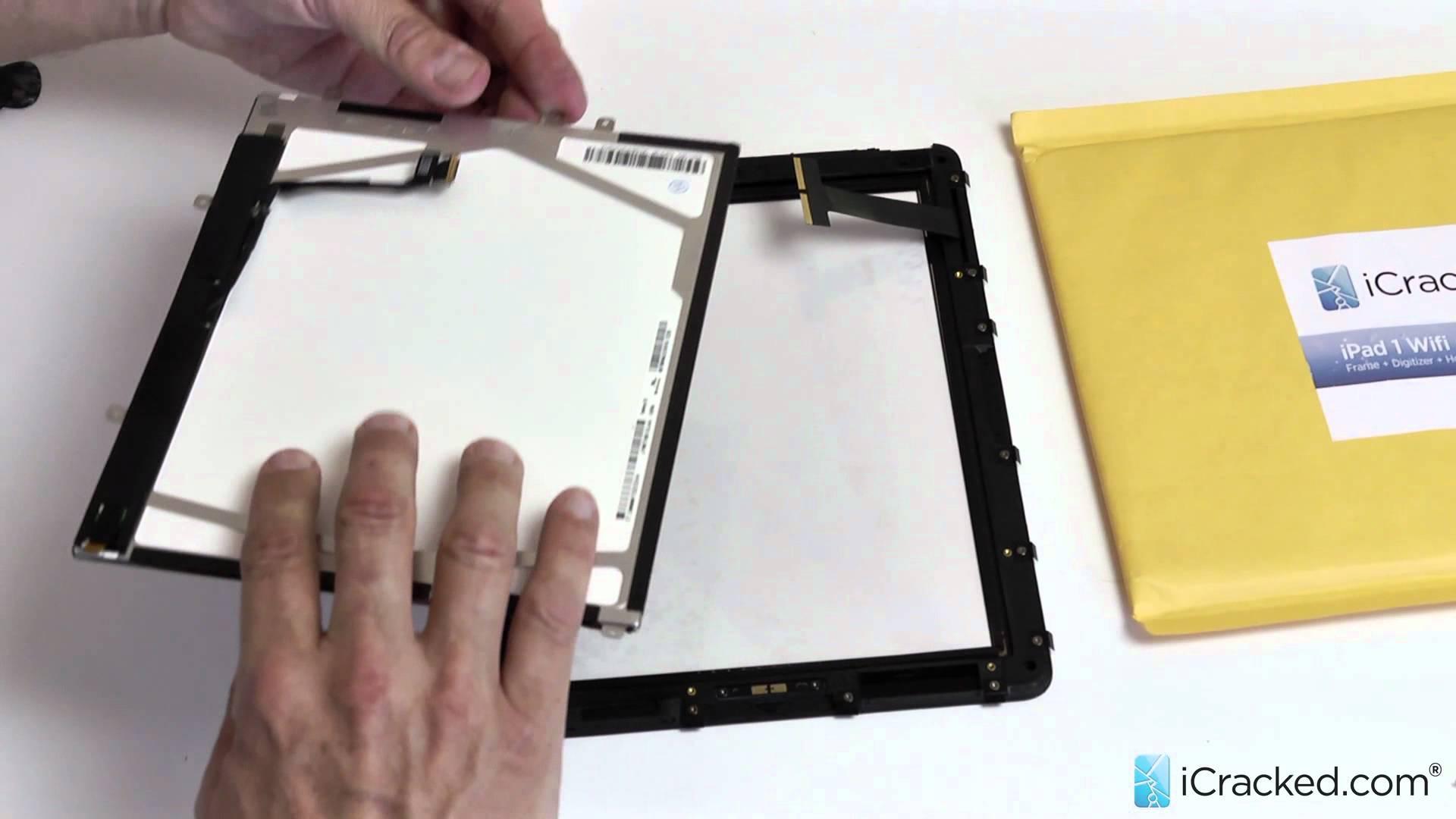 iPad 1(初代) LCD液晶 修理交換取付方法動画
