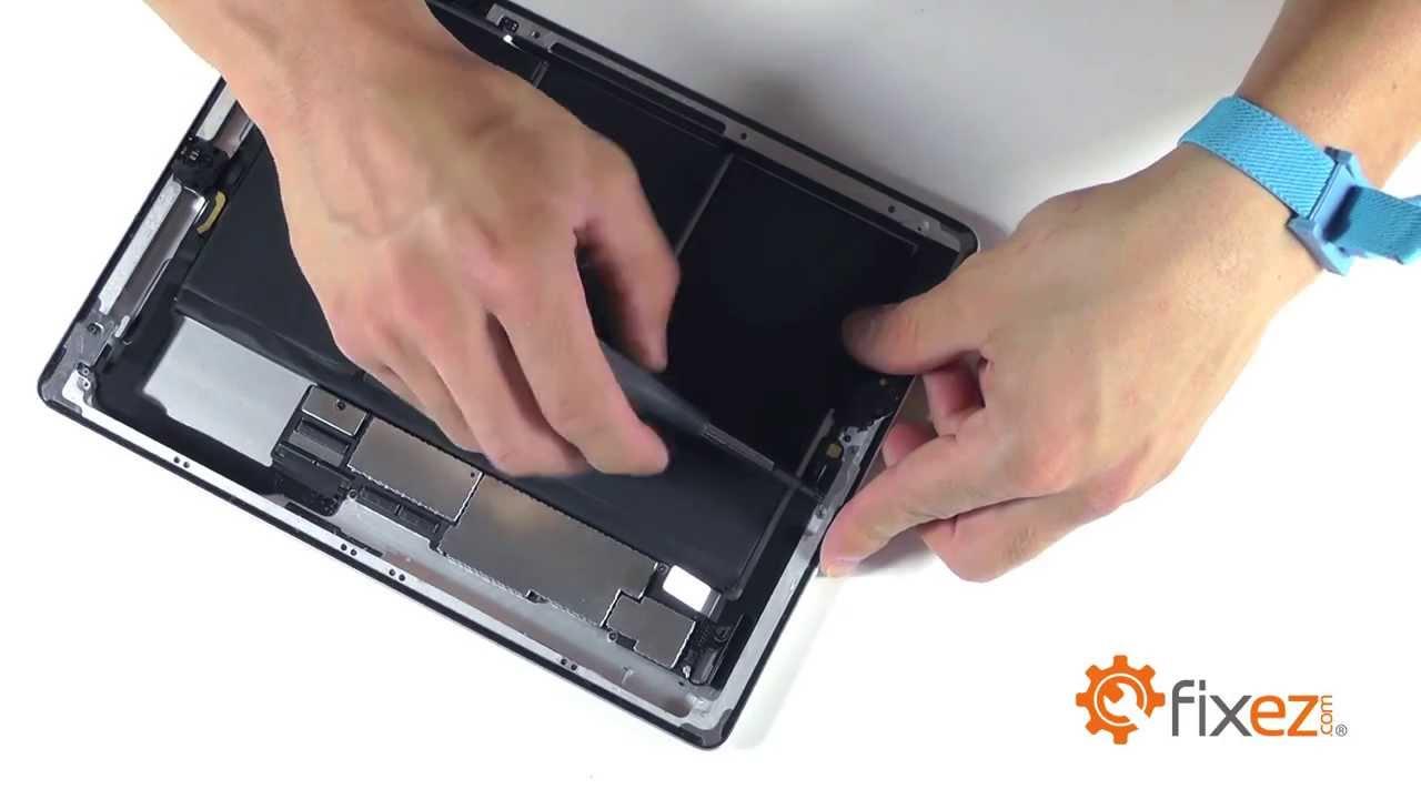iPad 4 wifiアンテナ交換修理方法動画