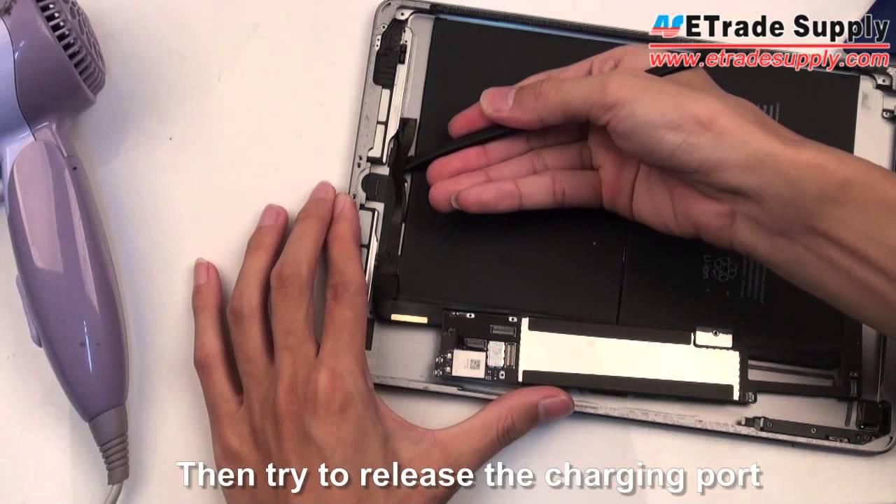iPad air 分解修理方法動画