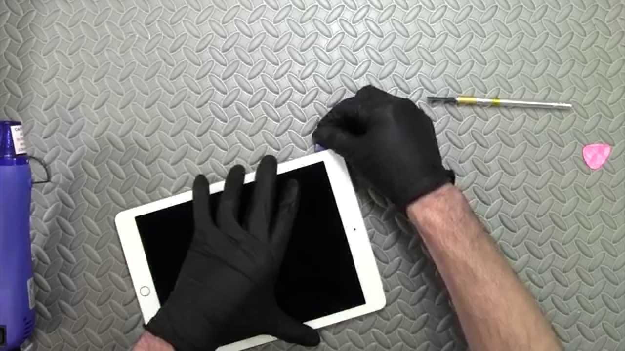 iPad Air 2 フロントパネル交換修理方法動画(ガラス割れ・液晶不良修理)