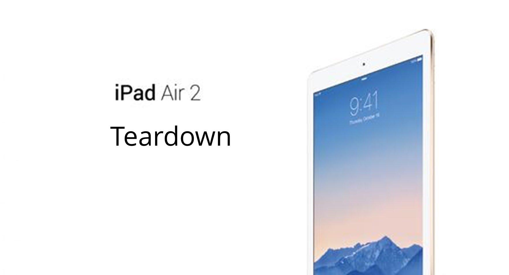 iPad air 2 パーツ交換修理方法動画