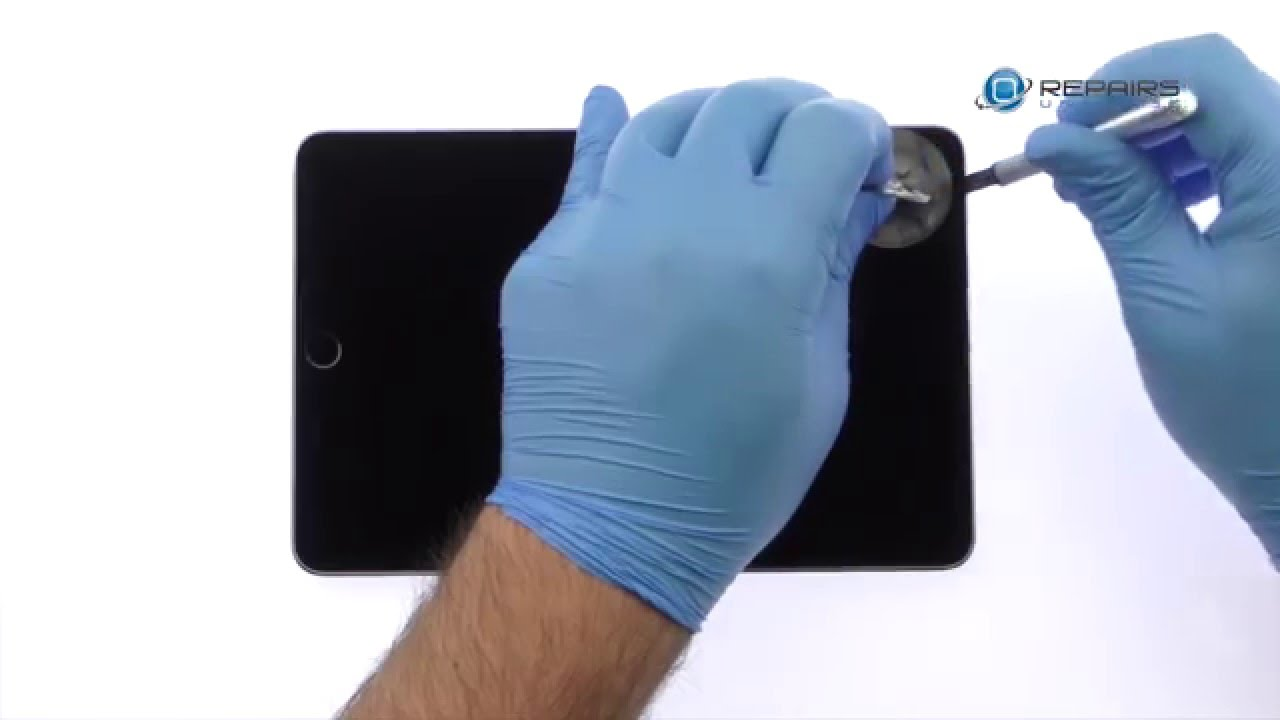 iPad Mini 4分解組み立て修理方法動画