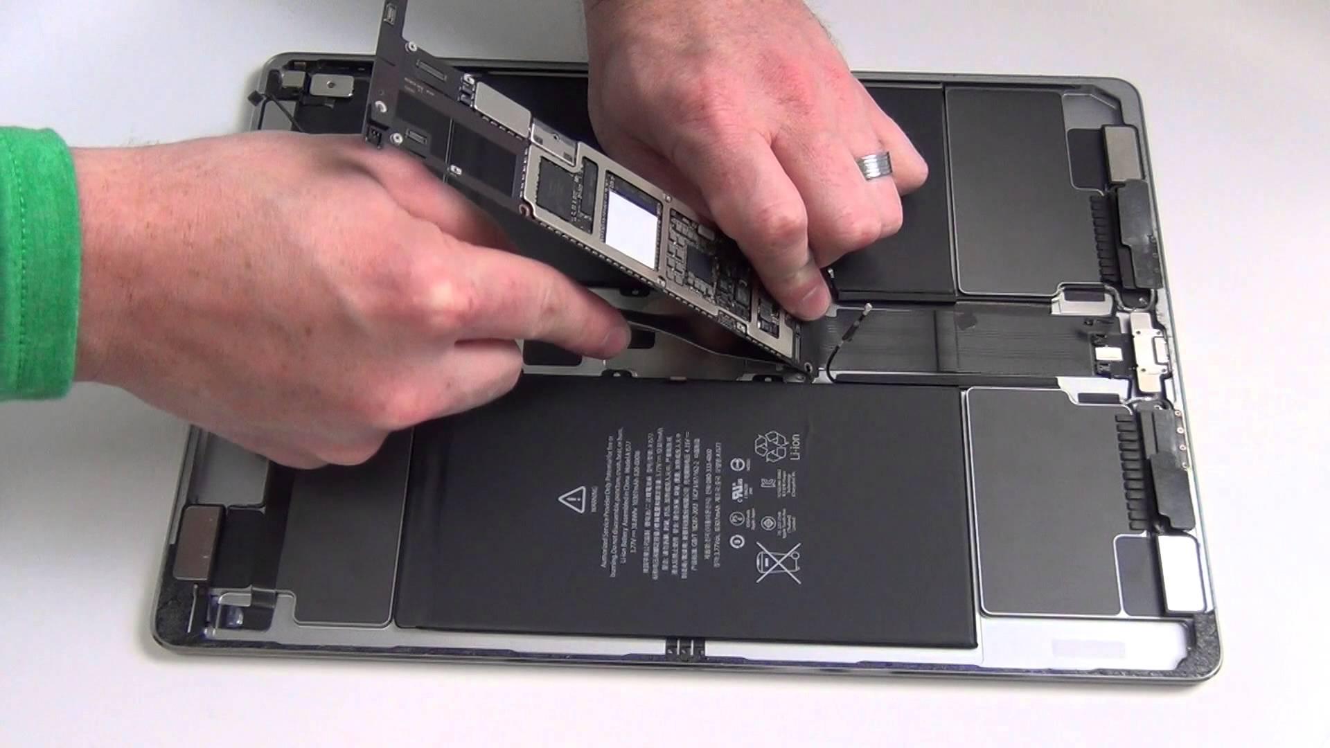 iPad Pro 分解方法・部品交換修理方法動画