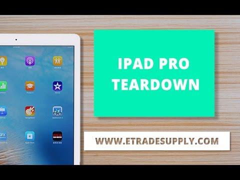 iPad Pro 分解修理方法動画