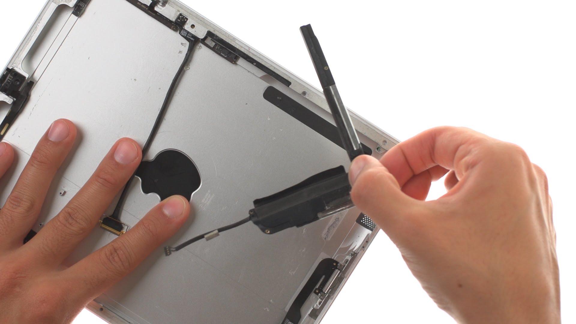 iPad2 ラウドスピーカー交換修理方法動画