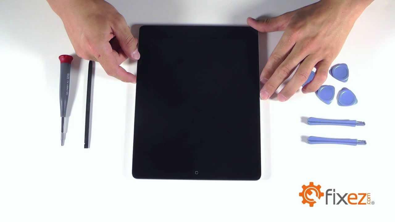 iPad4 フロントガラス・液晶 交換修理方法動画
