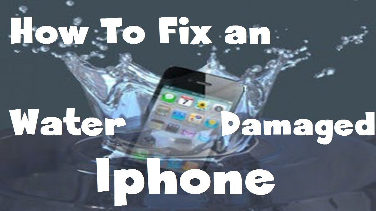 iPhoneの水没修理方法動画