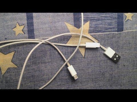 iPhoneライトニングケーブル修理方法動画