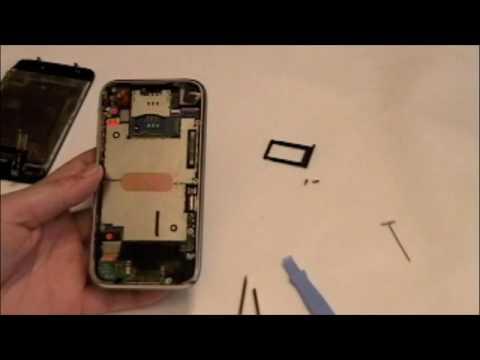 iPhone 3G 修理・解体動画