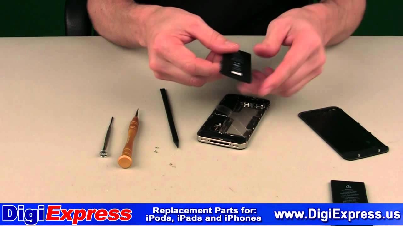 iPhone 4 バッテリー交換修理動画