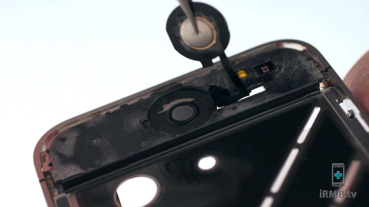 iPhone 4 ホームボタン修理動画