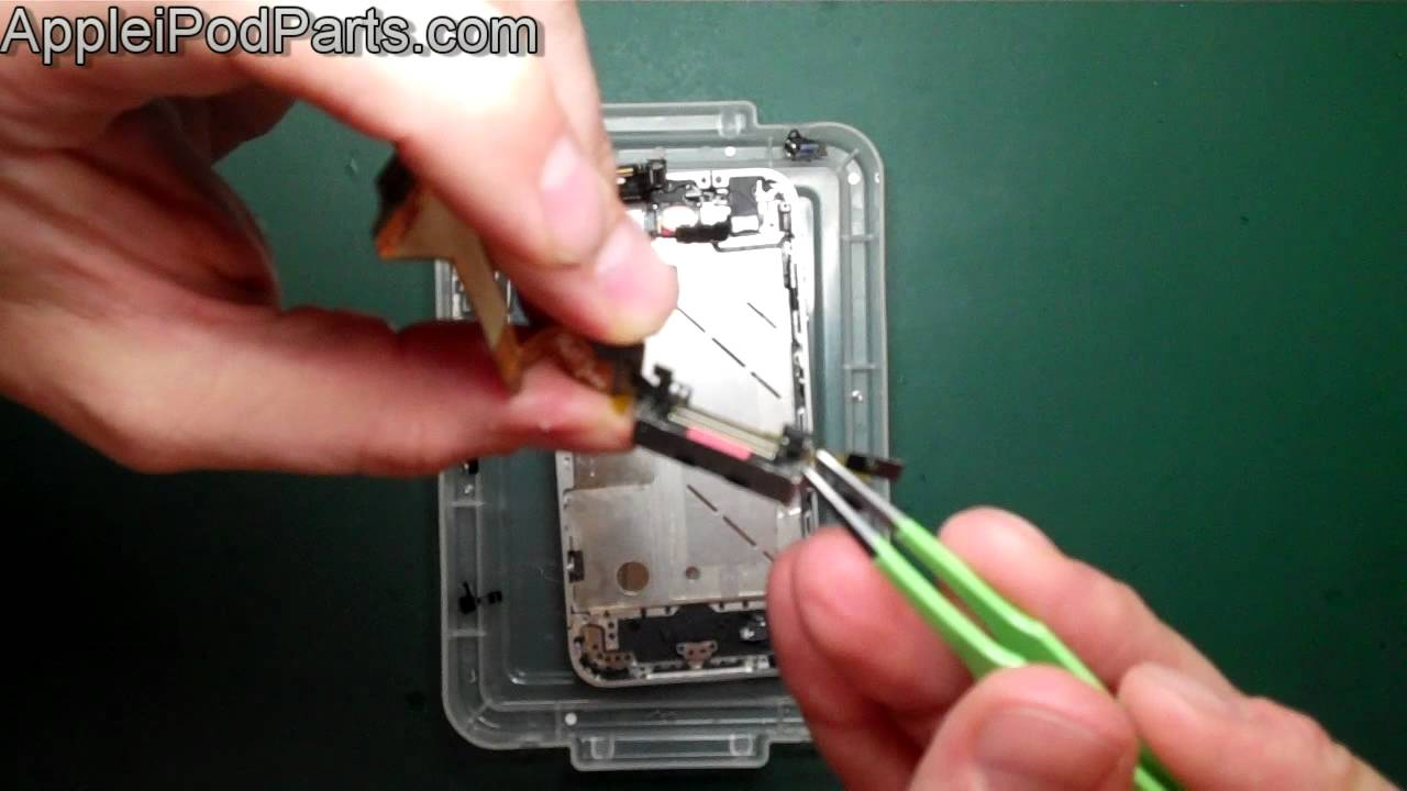 iPhone 4 ドックコネクタ修理動画