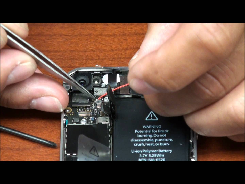 iPhone 4 LEDバックパネル導入動画