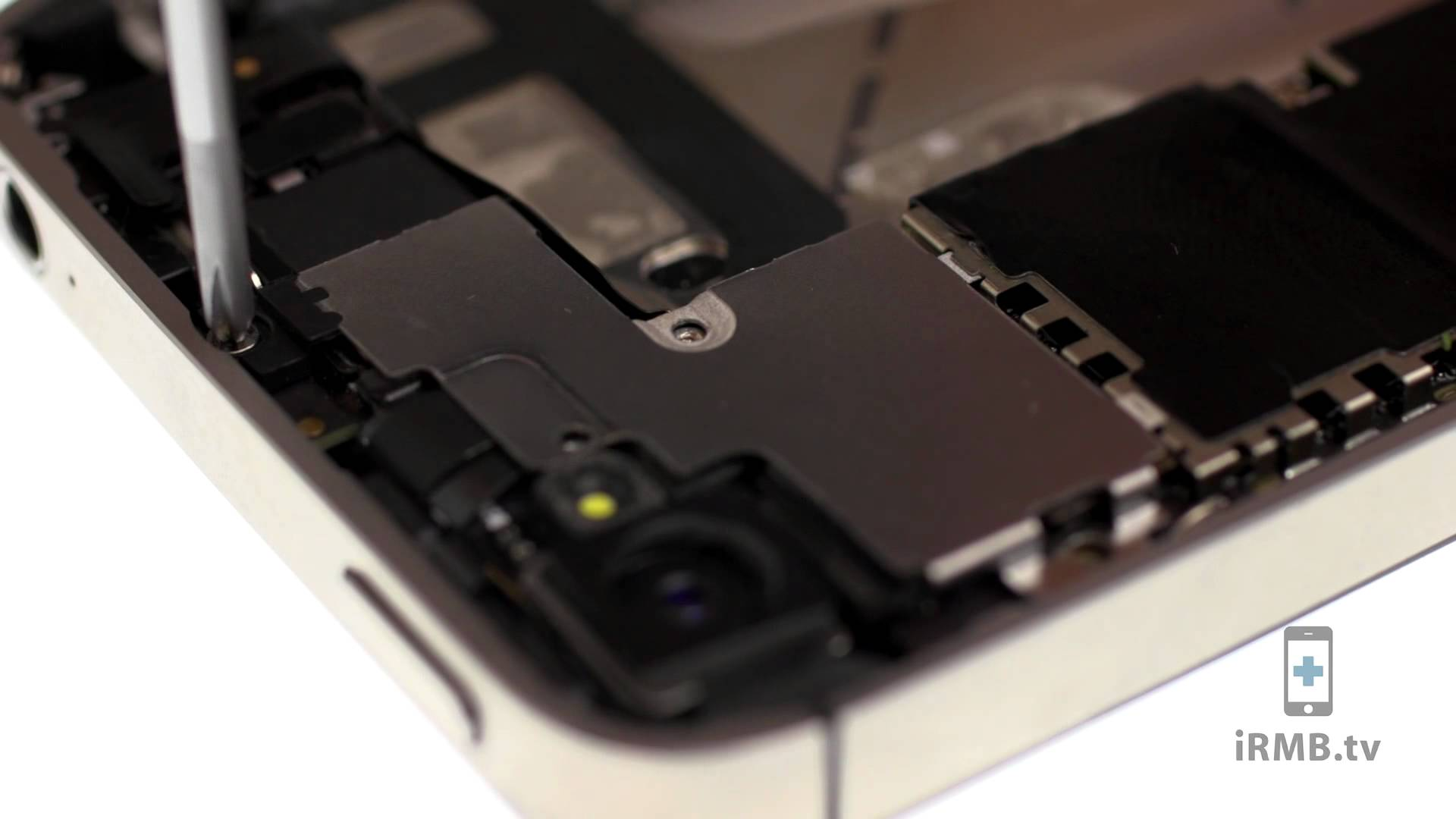 iPhone 4S フロントカメラ交換修理動画