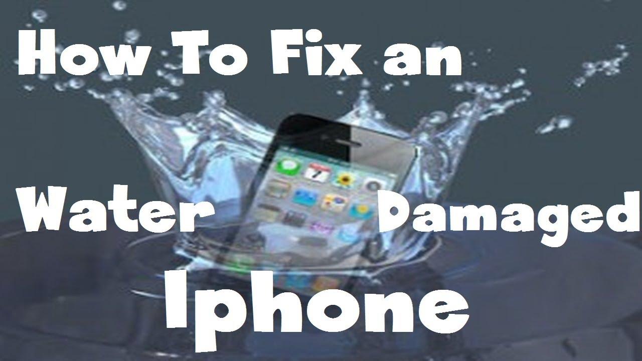 iPhone 4S 水没修理方法動画