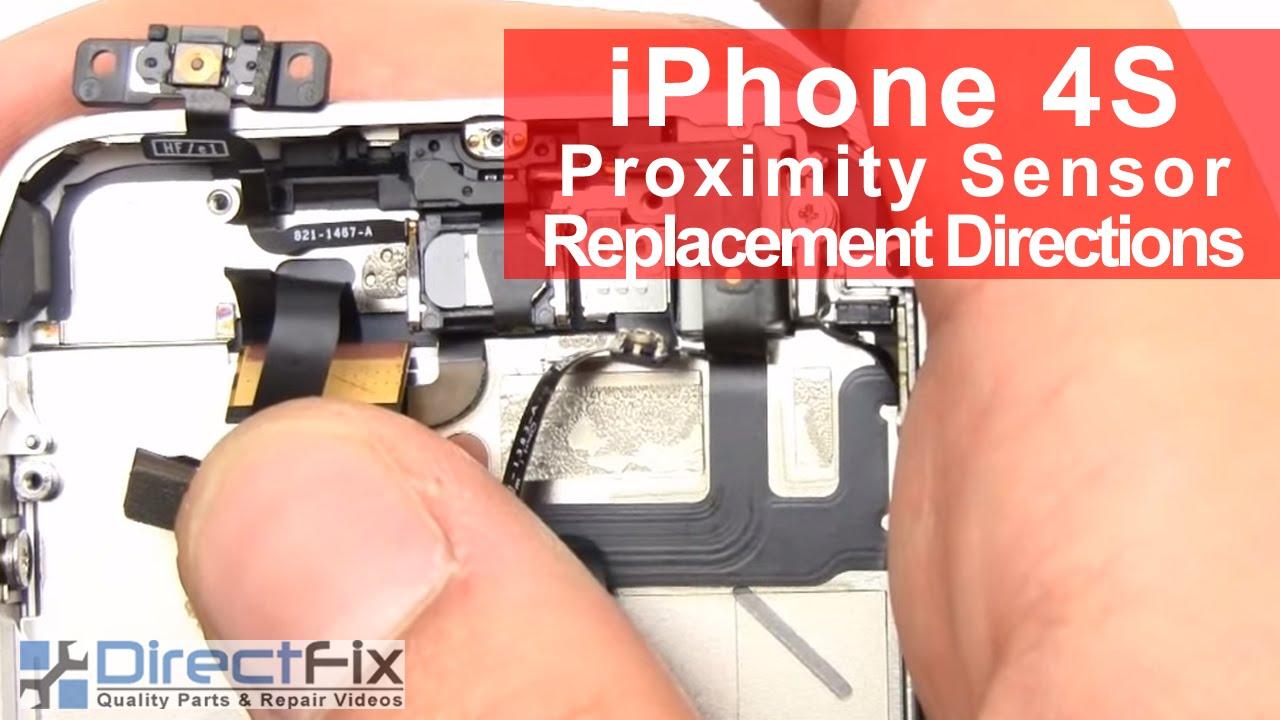 iPhone 4S スリープボタン修理&近接センサー修理動画