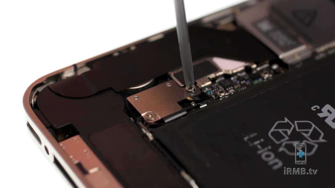 iPhone 4S アンテナ交換修理動画