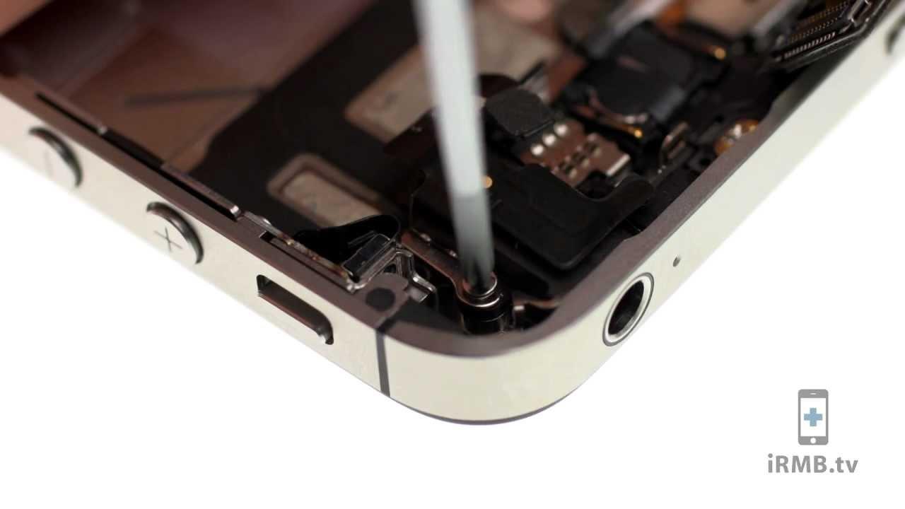 iPhone 4S wifiアンテナ交換修理動画