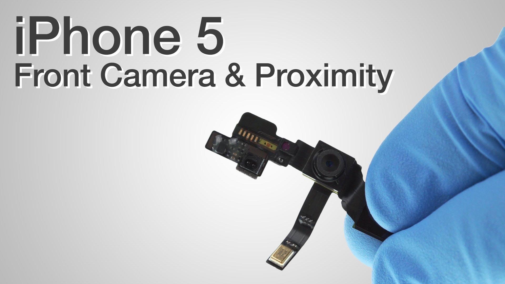 iPhone 5 フロントカメラ交換修理&センサー交換修理動画