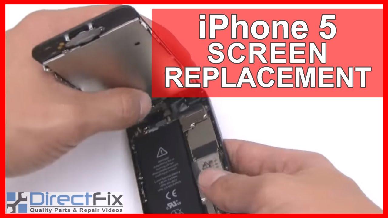 iPhone 5 解体動画