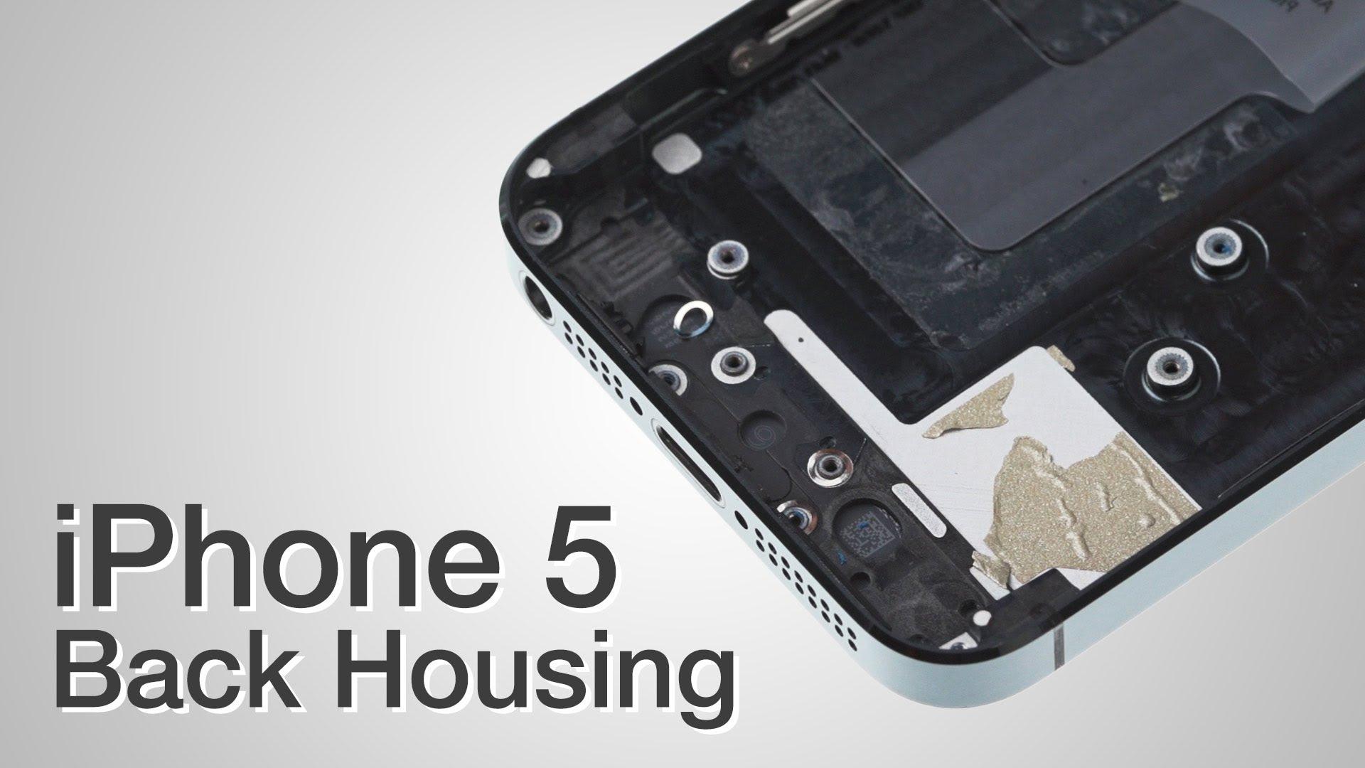 iPhone 5 バックパネル交換修理動画