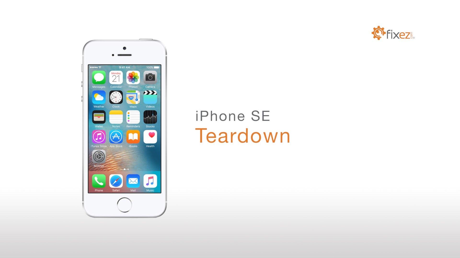 iPhone 5SE 分解修理方法動画