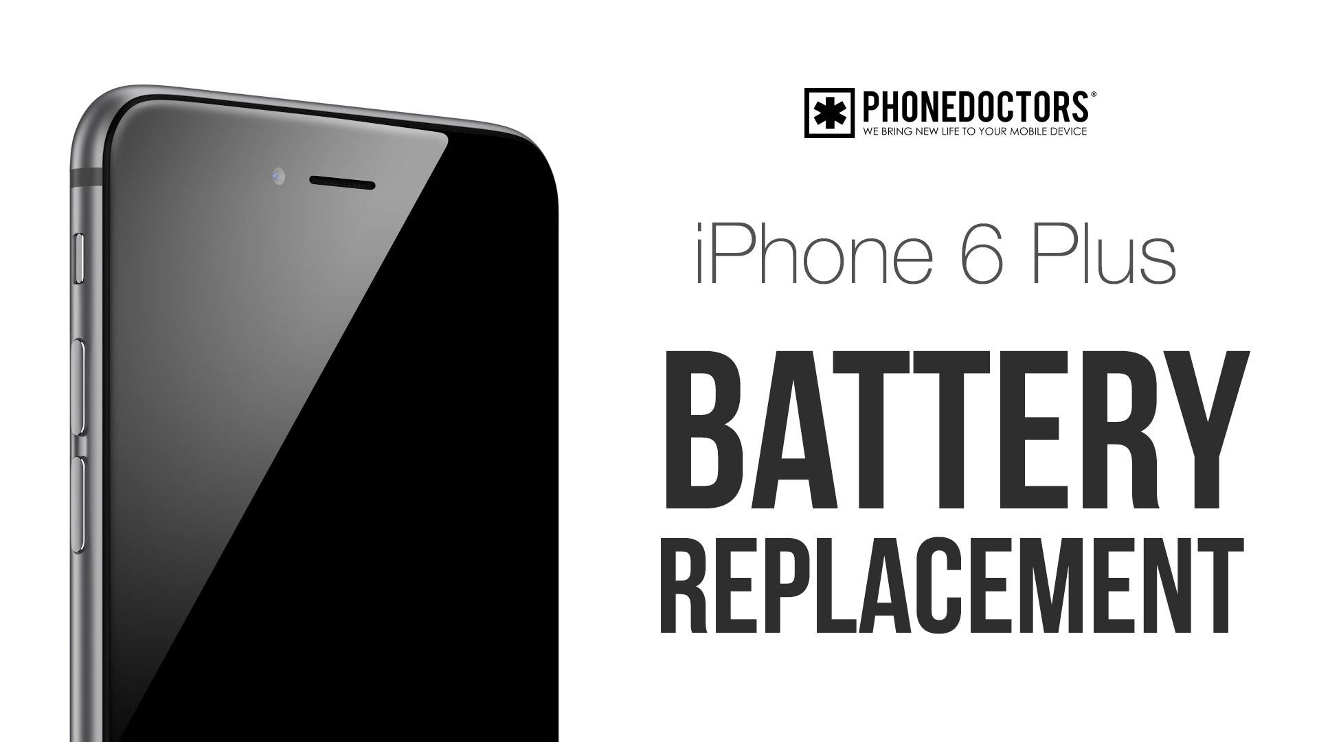 iPhone 6 Plus バッテリー交換方法動画