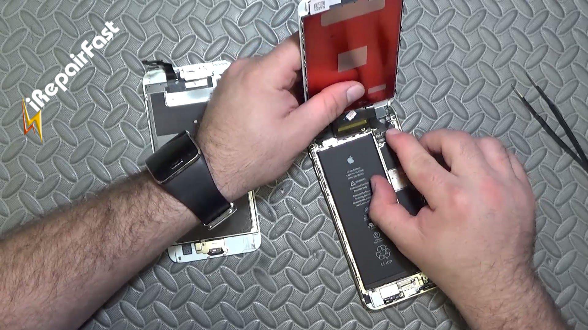 Iphone 6s PLusガラス割れ修理方法動画