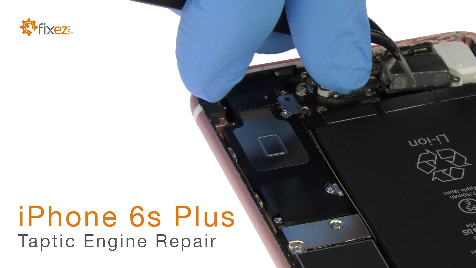 iPhone 6s Plus Taptic Engine交換修理方法動画