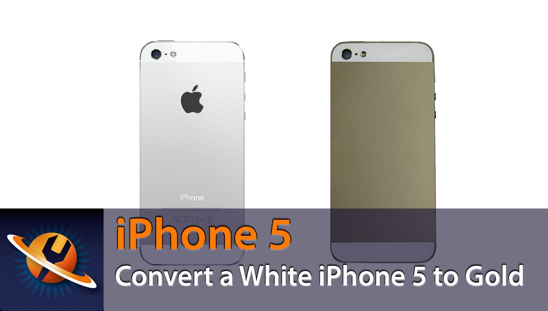 iPhone5 バックパネル交換 組立方法動画