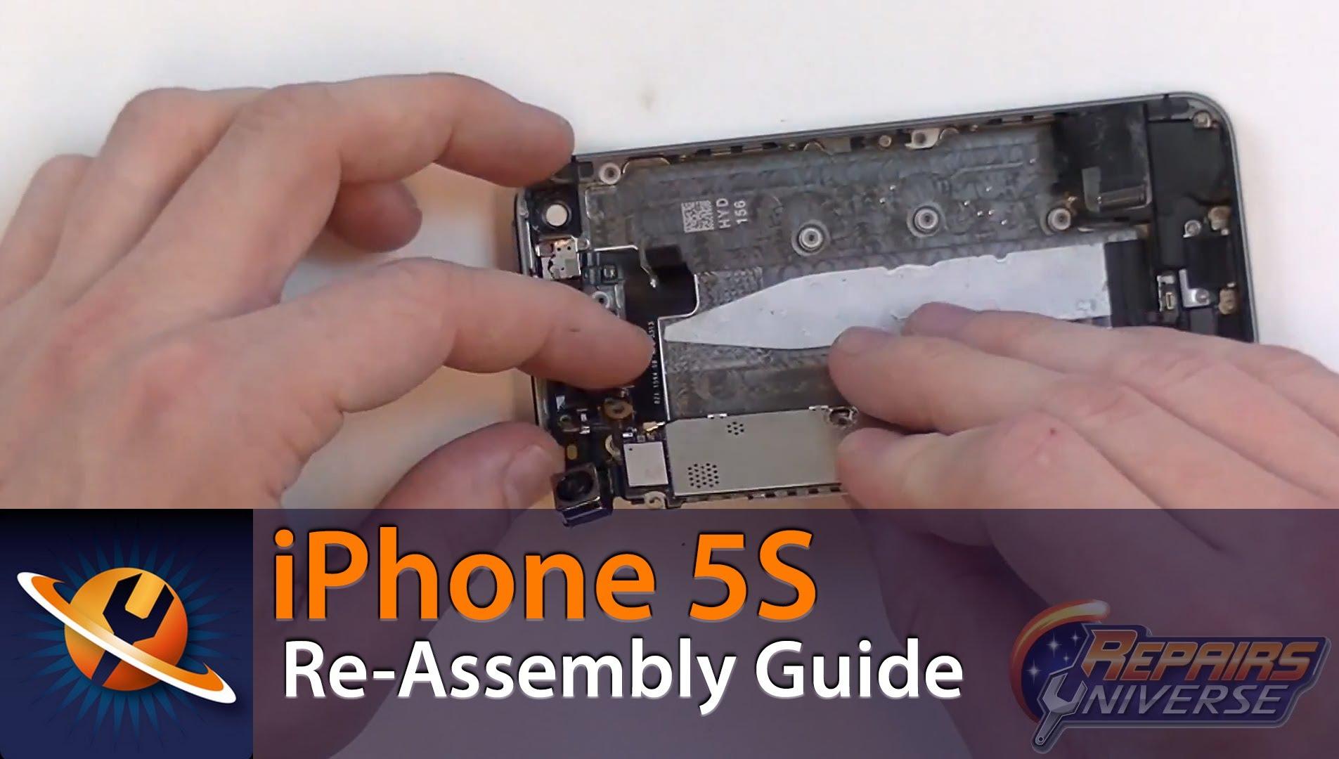 iPhone5S 組立方法動画