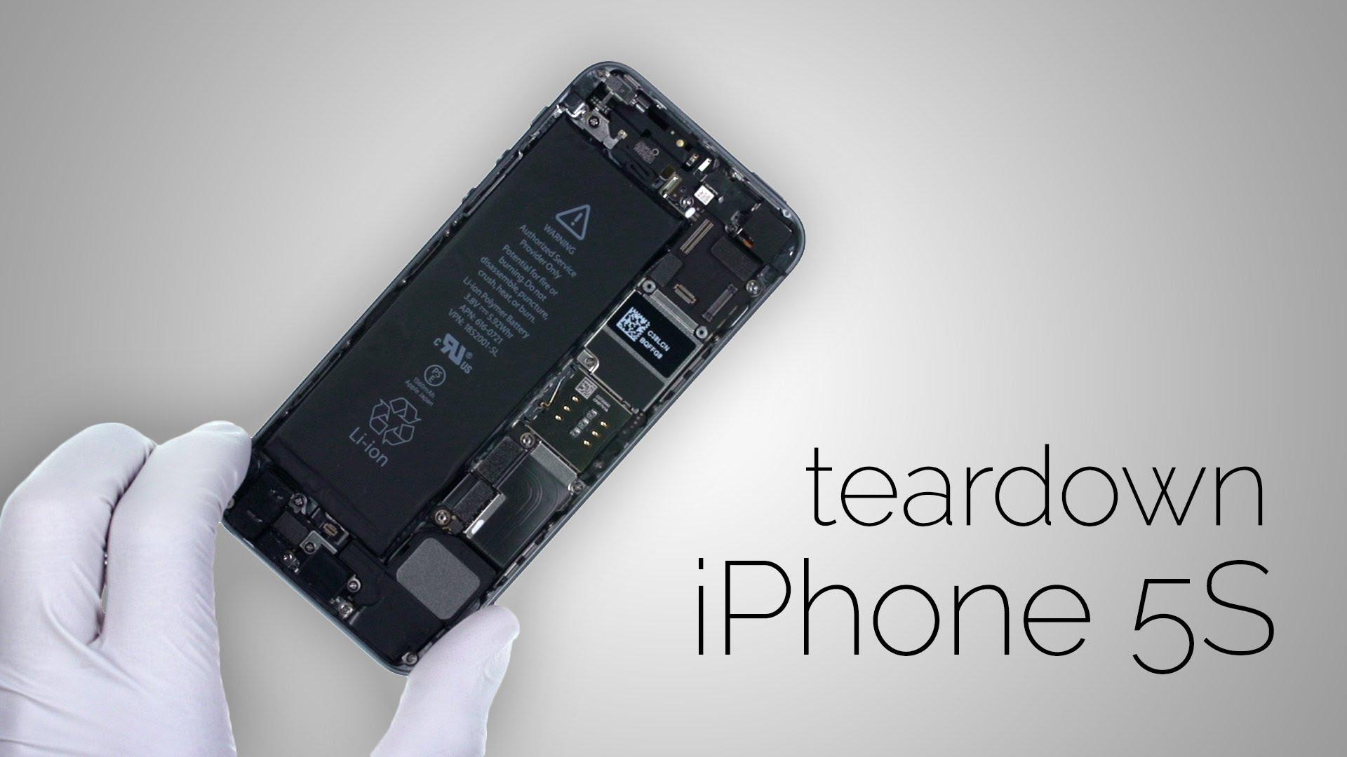 iPhone5S 解体修理方法動画