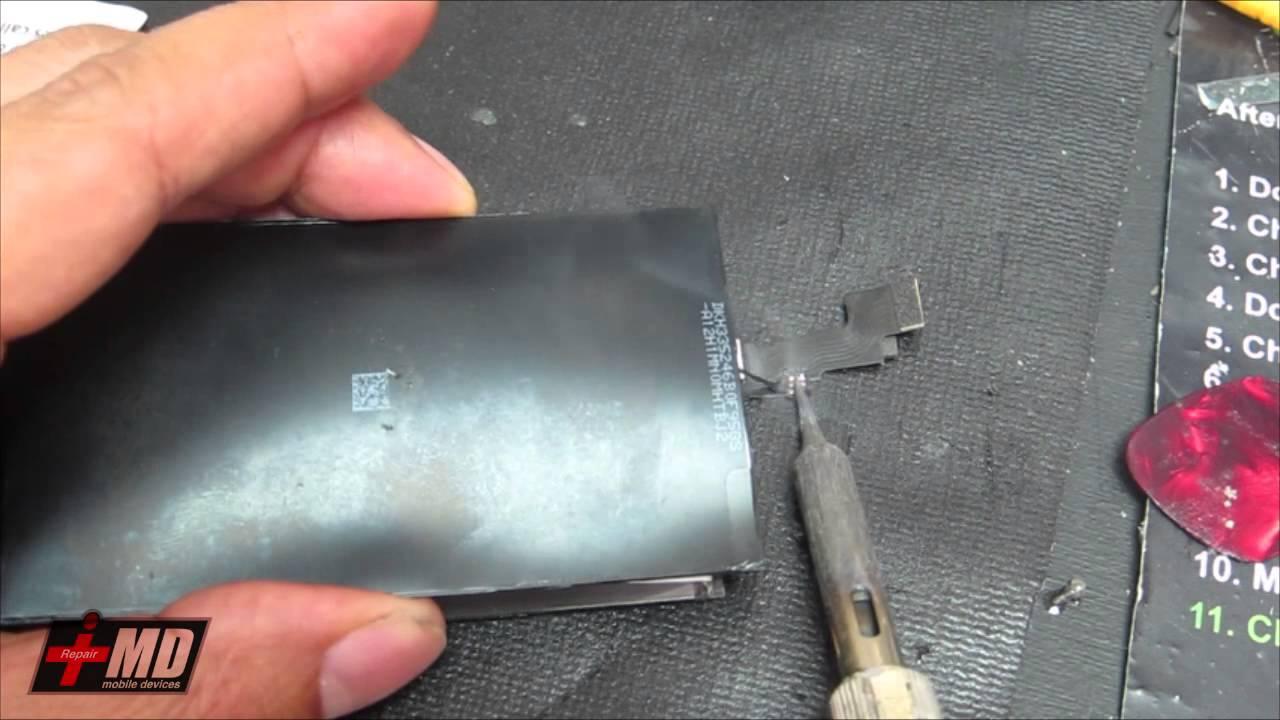 iPhone5S/5C フロントガラス交換修理方法動画