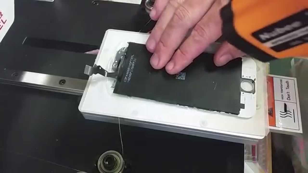 iPhone6 ガラスのみ交換方法動画