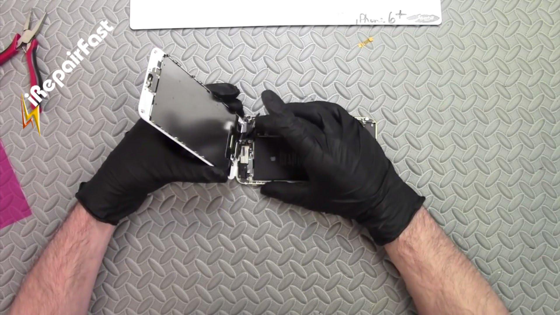 iPhone6 フロントパネル・液晶ガラス交換修理方法動画