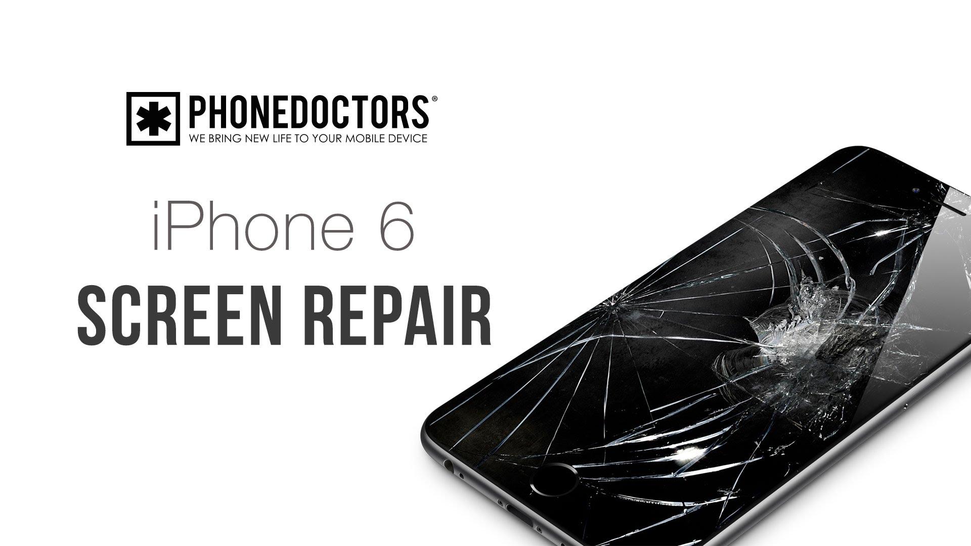 iPhone6 ガラス割れ等・フロントパネル交換修理方法動画
