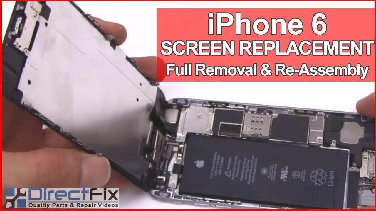 iPhone6 分解/組立 修理方法動画