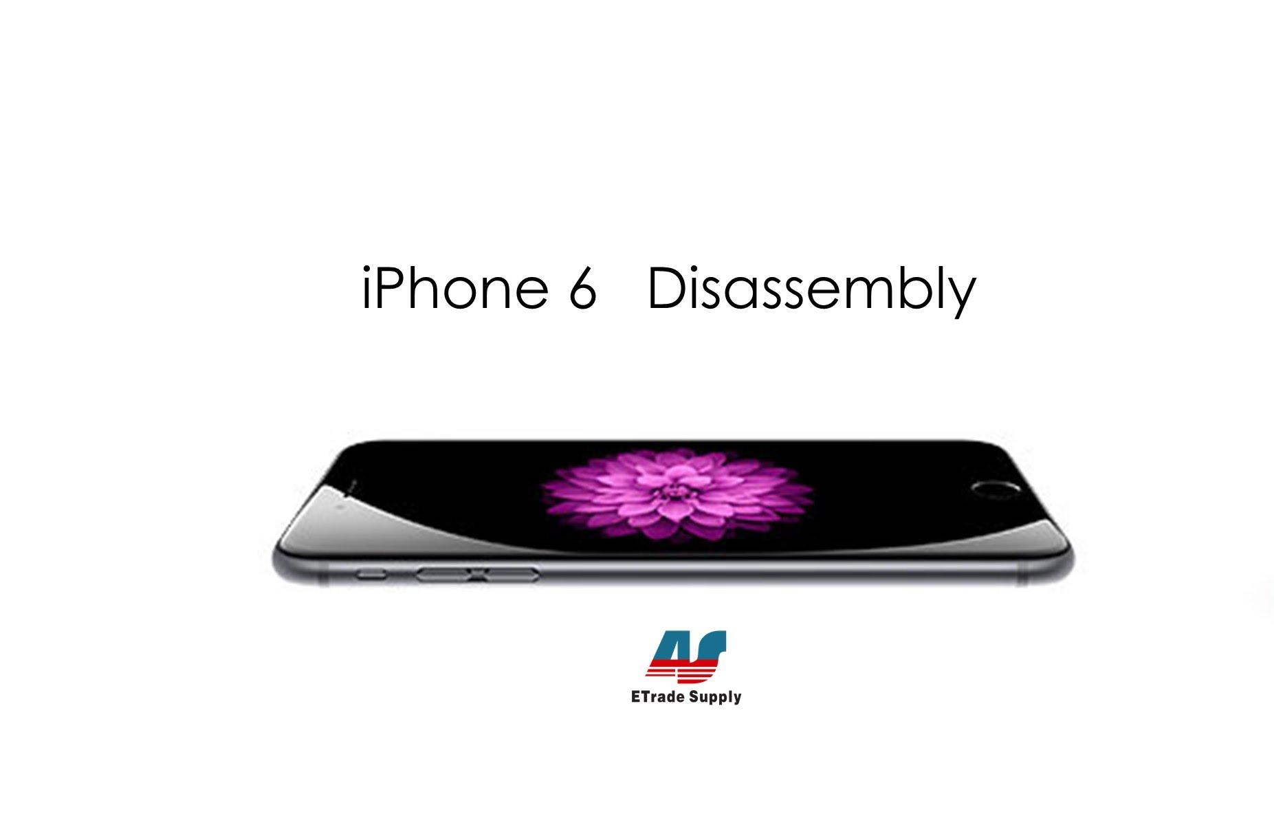 iPhone6 分解・パーツ交換による修理方法動画