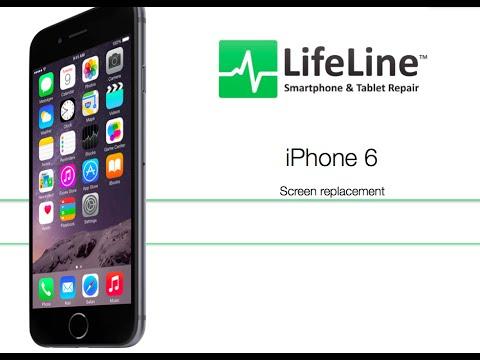 iPhone6 フロントパネル交換修理方法動画