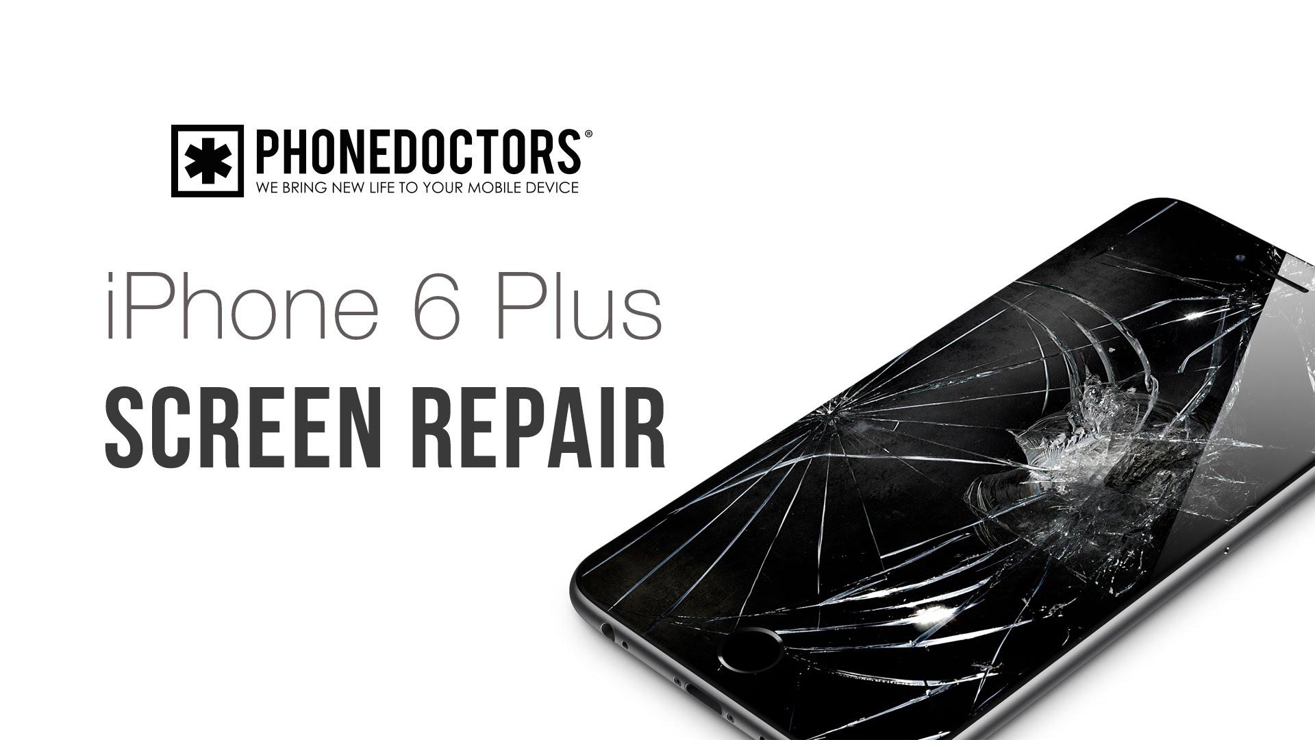iPhone6 plus ガラス割れ等・フロントパネル交換修理方法動画