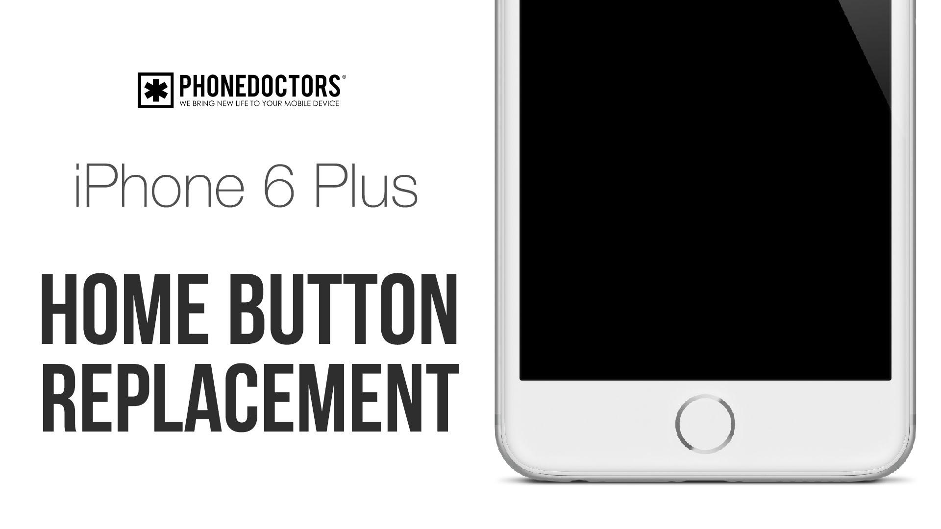 iPhone6plus ホームボタン交換修理方法動画
