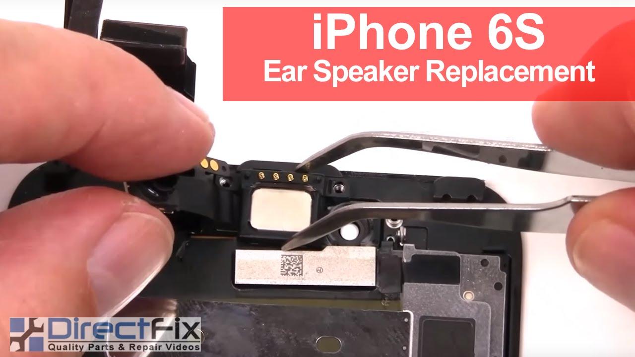 iPhone6S イヤースピーカー交換修理方法動画