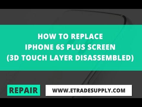 iPhone6S フロントパネル交換方法・分解方法動画