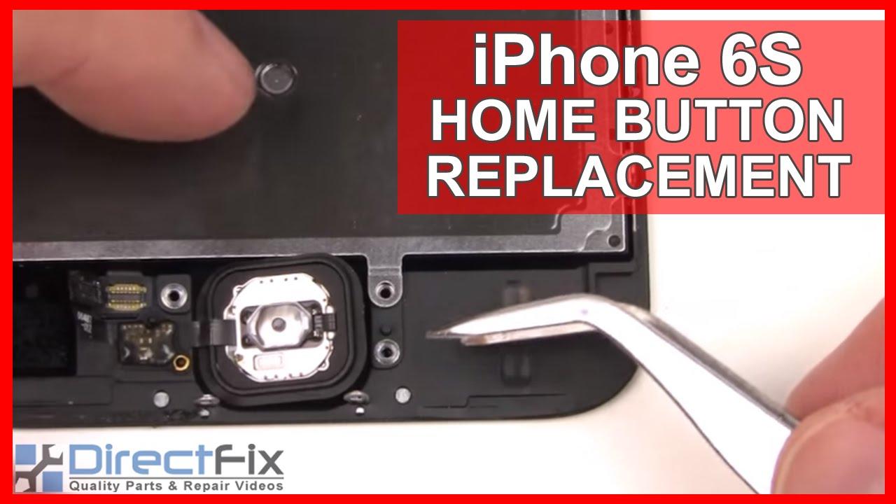 iPhone6S ホームボタン修理方法動画