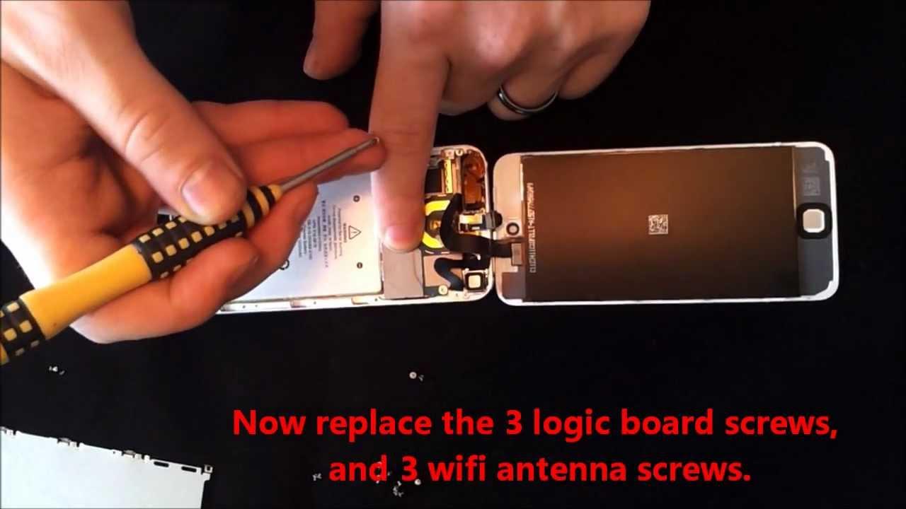 iPod touch 第5世代 フロントパネル修理方法動画