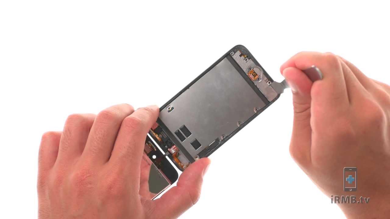 iPod touch 4 ホームボタン修理動画