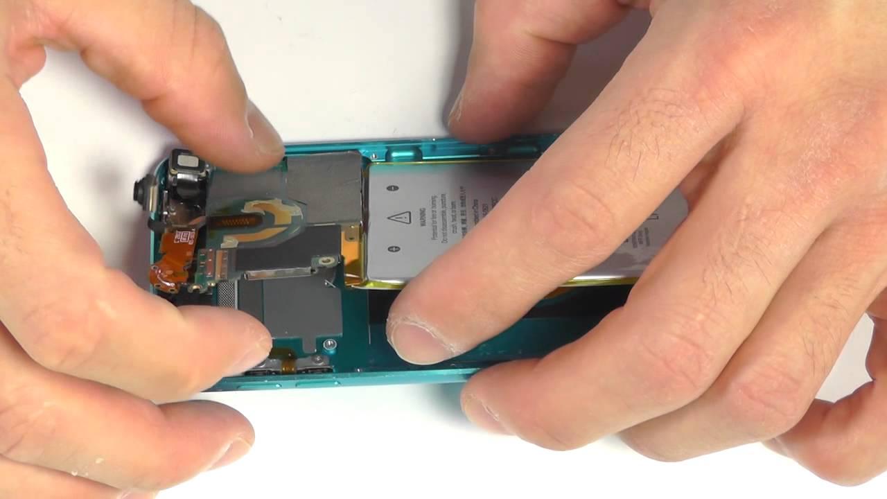 iPod touch 5th(第五世代) フロントパネル液晶修理方法動画