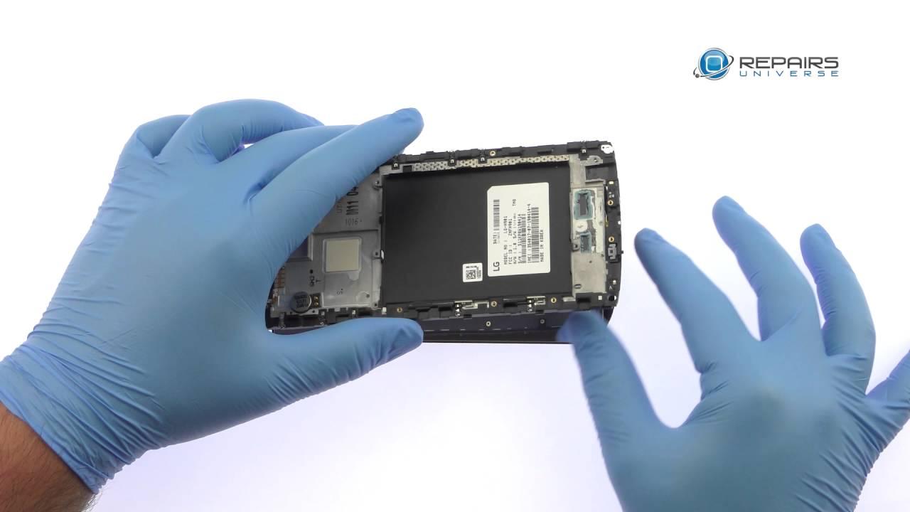LG V10 LCD 液晶・タッチパネル交換修理動画